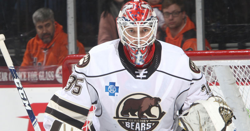 Samsonov's First AHL Shutout Helps Bears Snap Skid in Allentown