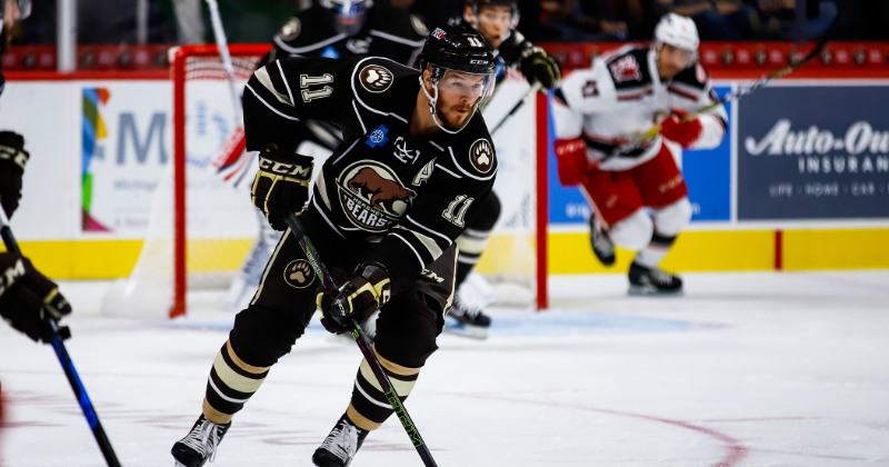 Bears Beat Grand Rapids 4-2 to Earn First Win