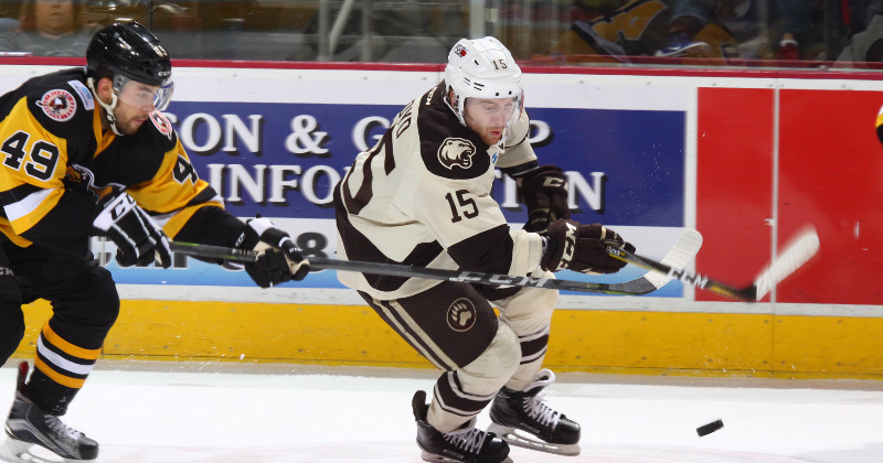 Bears Fall to Penguins 5-1 on Sunday