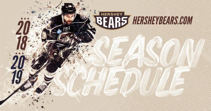 Bears 2018-19 Schedule Released