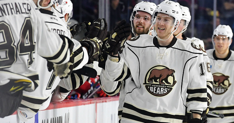 Boyd Scores Four Goals as Hershey Beats Laval, 6-3