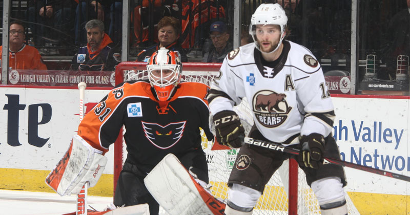 Bears Tie Franchise Record, Defeat Phantoms 4-3