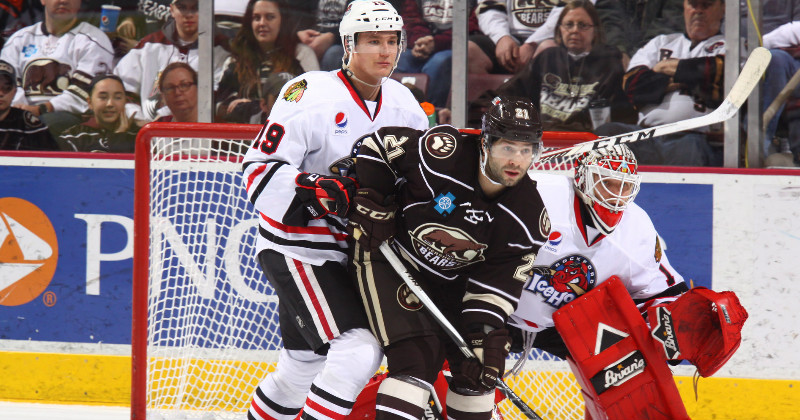 Bears Earn Point in 4-3 Overtime Loss to IceHogs