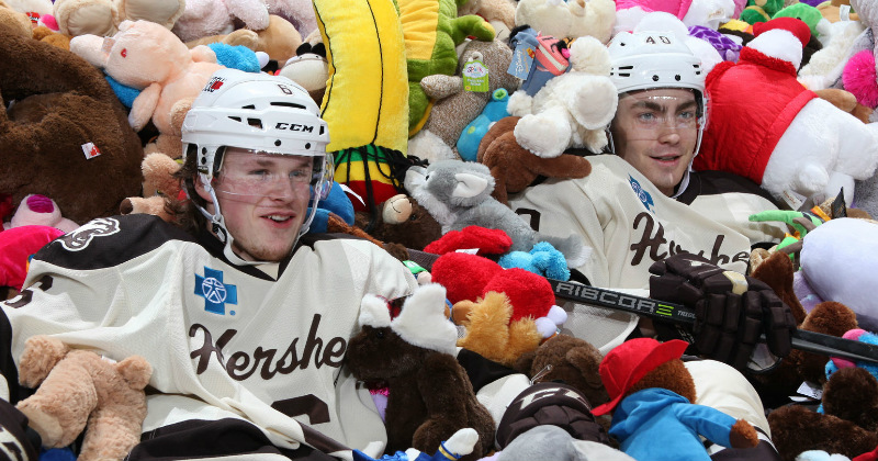 Record Teddy Bear Toss Capped off by 4-3 OT Win