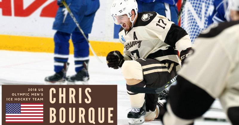 Bourque Named to U.S. Olympic Men's Ice Hockey Team