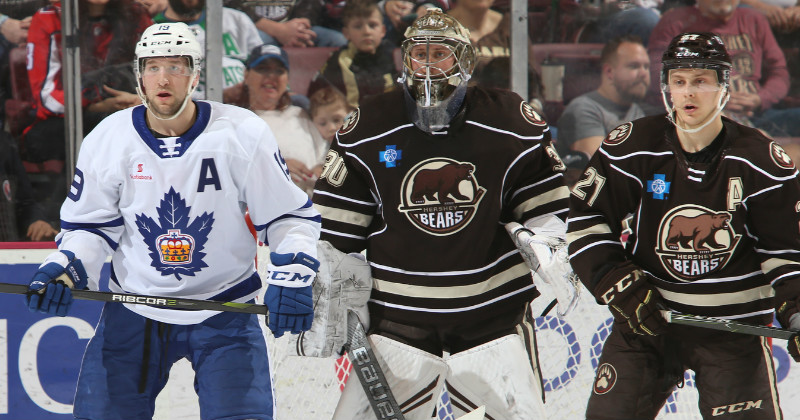 Bears Rally in Third, Fall in Overtime to Marlies