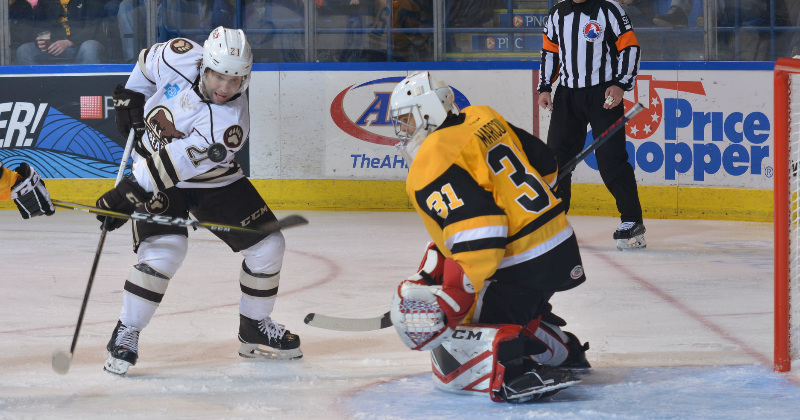 Bears Can't Overcome Penguins in 6-4 Loss