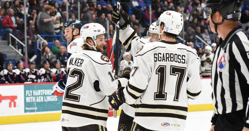 Bears Beat Hartford 6-3 at XL Center