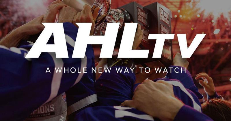 AHL Announces AHLTV as New Online Streaming Platform