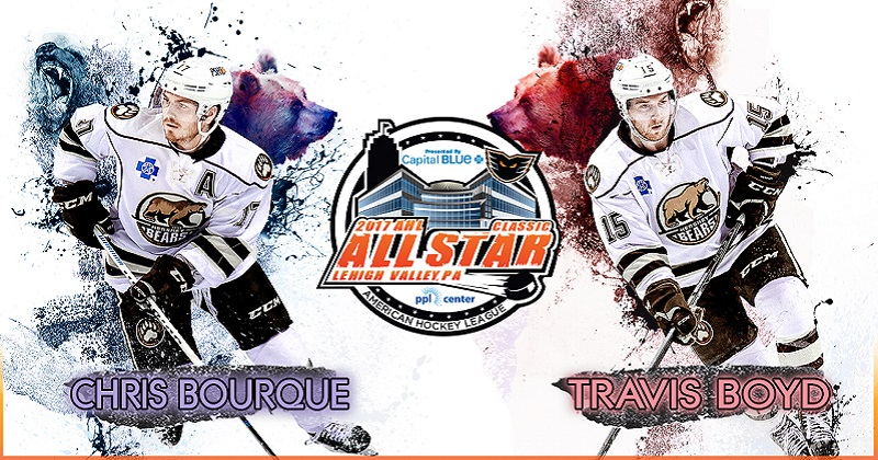 Bourque, Boyd to skate in 2017 AHL All-Star Classic