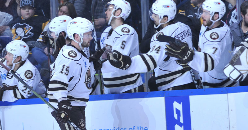Barber Nets Hat-Trick, Bears Win 10th Straight Game