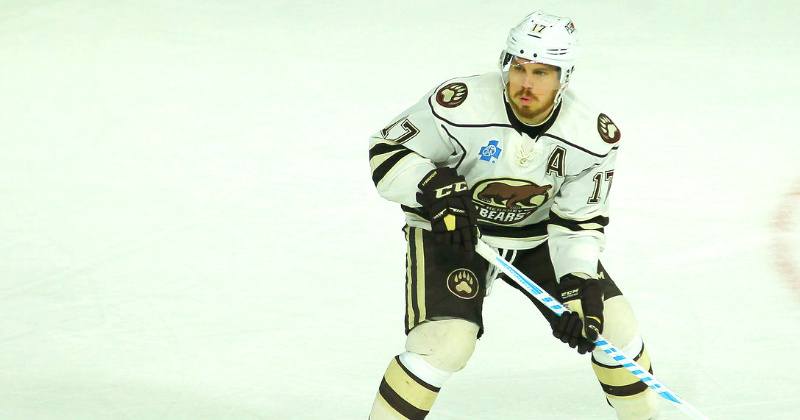 Chris Bourque Returns to Hershey for 2017-18