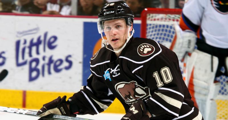 Bears Re-Sign Forward Dustin Gazley