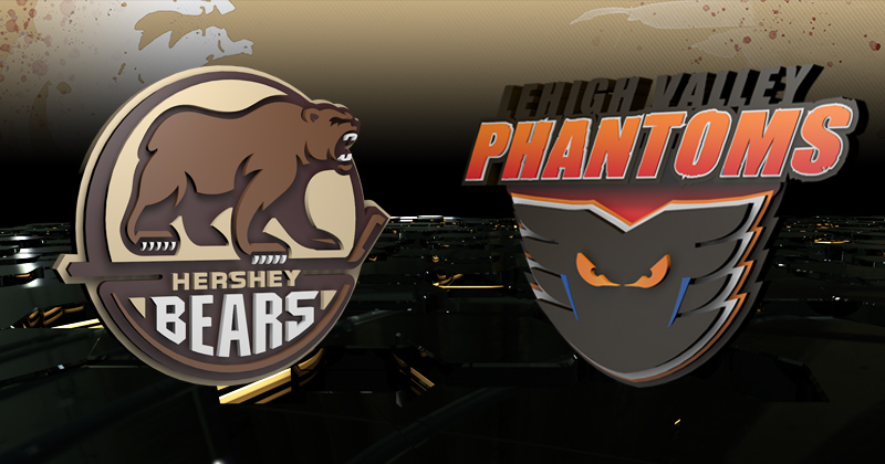 Game Preview: Phantoms at Bears, 5 p.m.