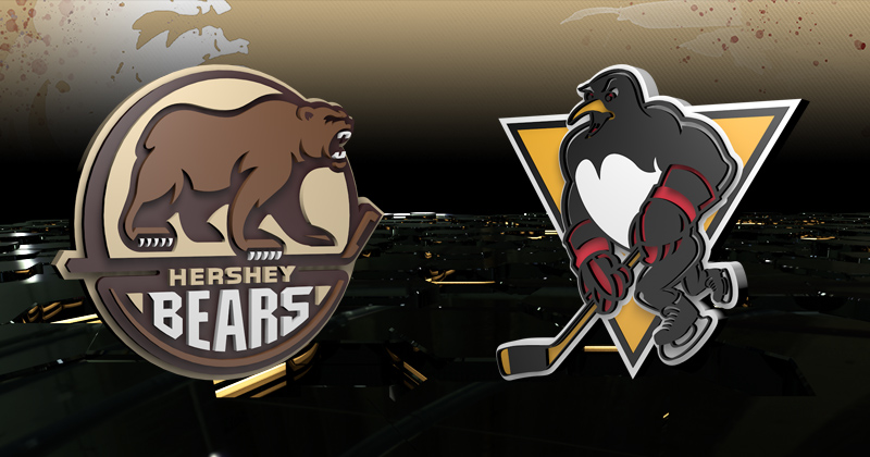 Game Preview: Penguins at Bears, 7 p.m.
