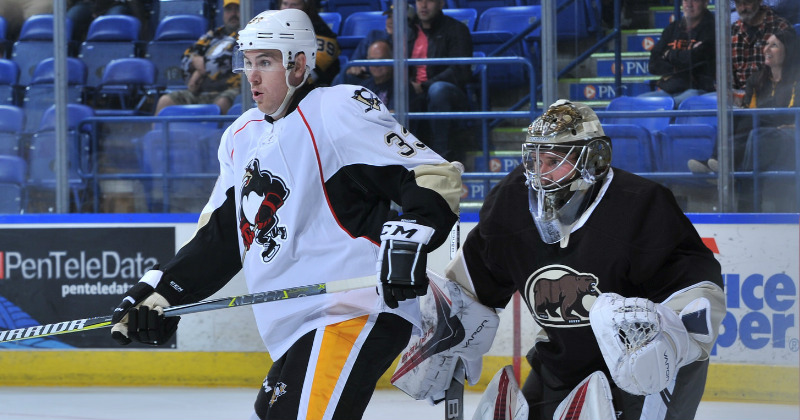 Bears Drop 6-2 Preseason Contest to Penguins