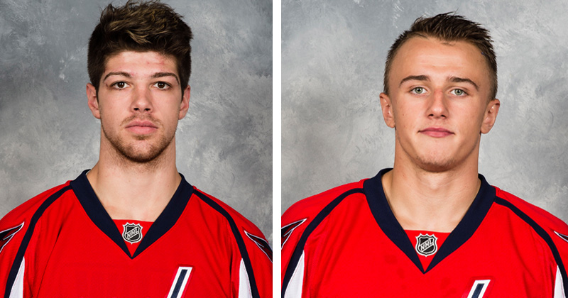 Sanford and Vrana Recalled by Washington