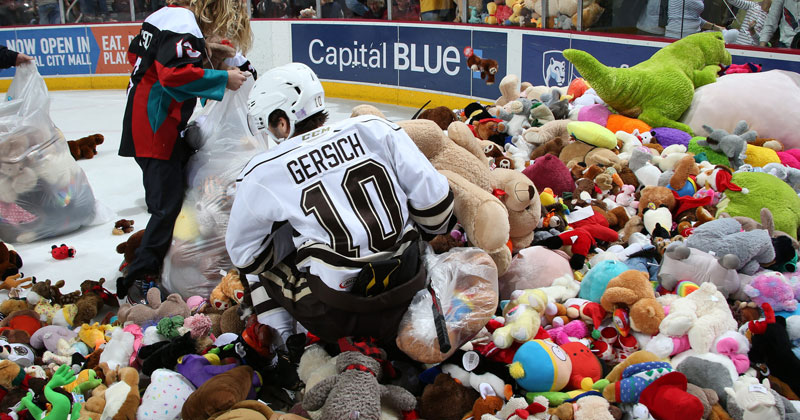 Bears Set Teddy Bear Toss World Record in Win Over Devils
