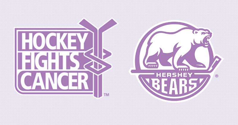 Bears to Host Hockey Fights Cancer Night on Sunday