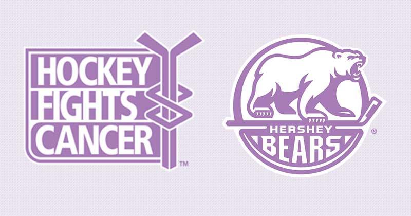 Bears to Host Hockey Fights Cancer Night on Sunday