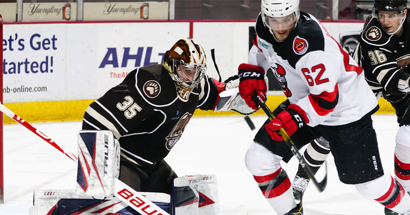 Fucale and Bears Blank Devils, 3-0