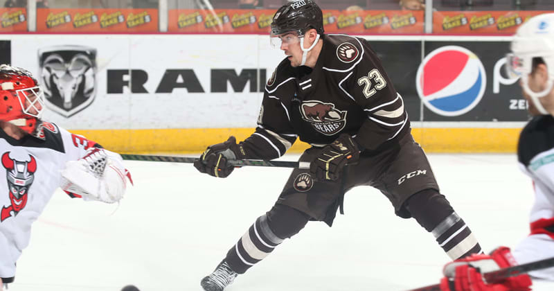 Bears Win Fourth Straight, Double Up Devils 6-3