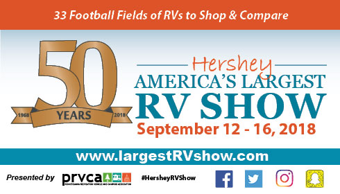 America's Largest RV Show 50th Anniversary