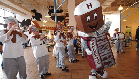 Hershey's Character Parade