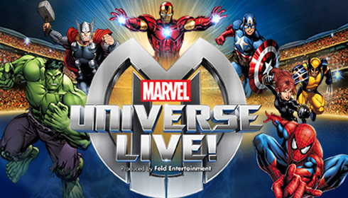 Marvel Universe Live! COMING 2015