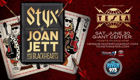 <span><span>Styx and Joan Jett &amp; The Blackhearts</span></span>