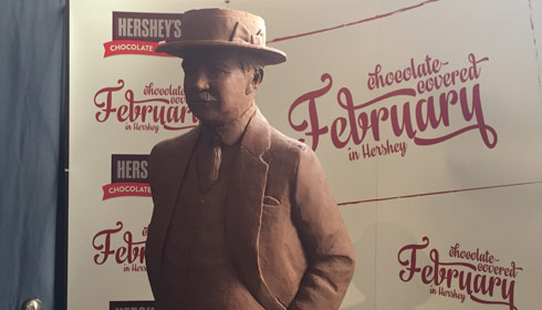 HERSHEY'S Chocolate Sculpture