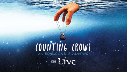 <span><span>Counting Crows with LIVE</span></span>