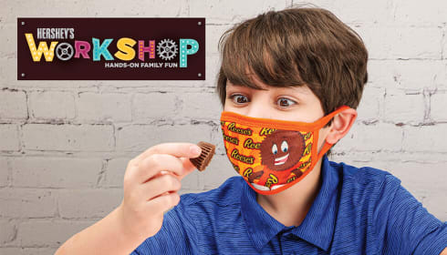 Hershey's Workshops: Hershey's and Reese's Cookie Pizza Kits