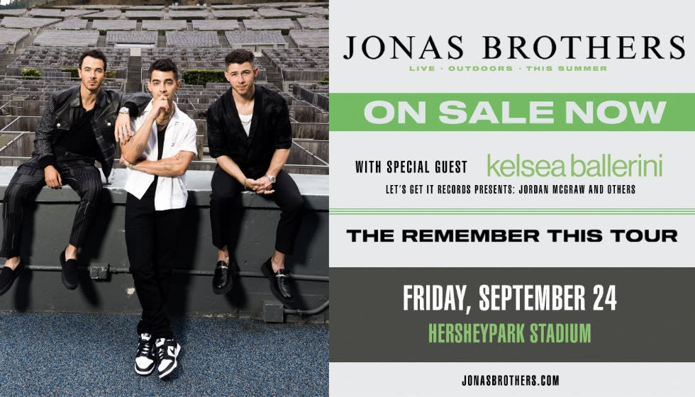 Jonas Brothers - Remember This Tour
