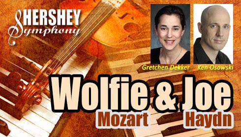 Hershey Symphony presents&nbsp;<span>Woflie Mozart &amp; Joe Haydn</span>