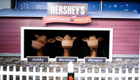 2020 HERSHEY's Chocolate Sculpture