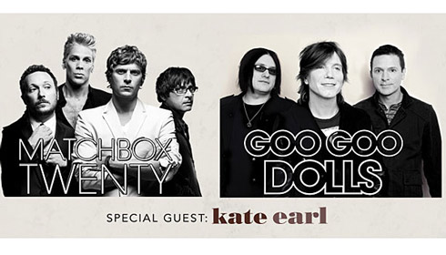 Matchbox Twenty and Goo Goo Dolls
