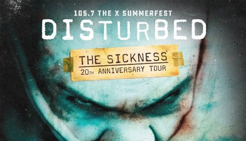 Disturbed: The Sickness 20th Anniversary Tour