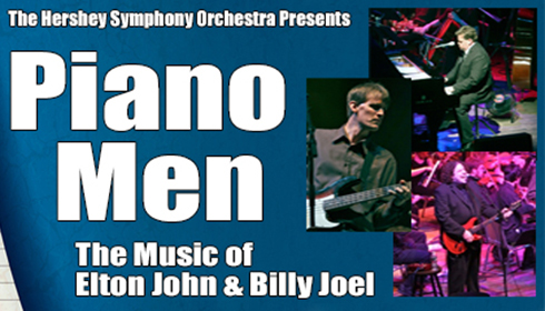 Hershey Symphony presents Piano Men: The Music of Elton John and Billy Joel