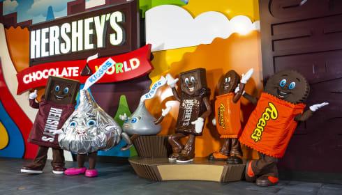 Chocolate-Covered February at Hershey's Chocolate World