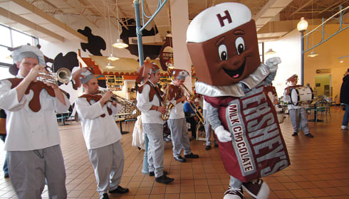 Chocolate-Covered February Parade