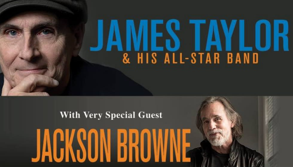 James Taylor with special guest Jackson Browne