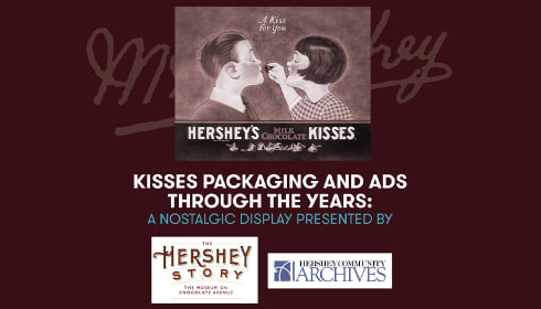 Kisses Packaging and Ads Through The Years: A Nostalgic Display Presented By The Hershey Story and Hershey Archives