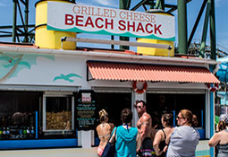 Grilled Cheese Beach Shack