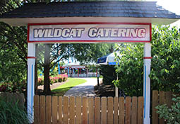 Wildcat Catering Area