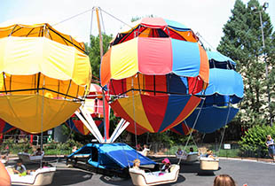 Balloon Flite Ride at Hersheypark