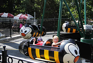 The Bizzy Bees in action at Hersheypark