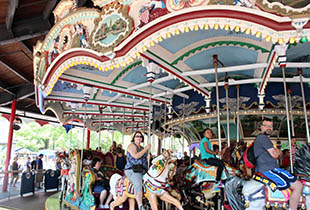 The Carrousel in action at Hersheypark