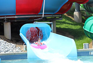 The Coastline Plunge - Vortex in action at Hersheypark
