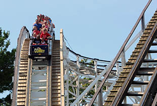 The Comet in action at Hersheypark